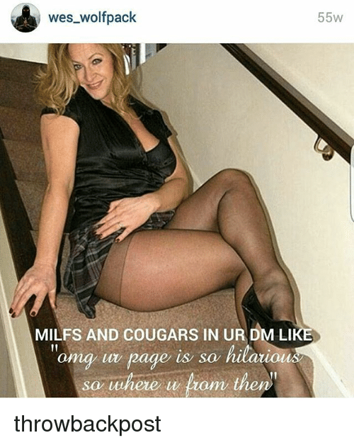Cougers milfs