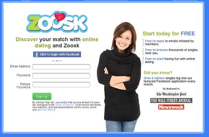 Zoosk facebook privacy