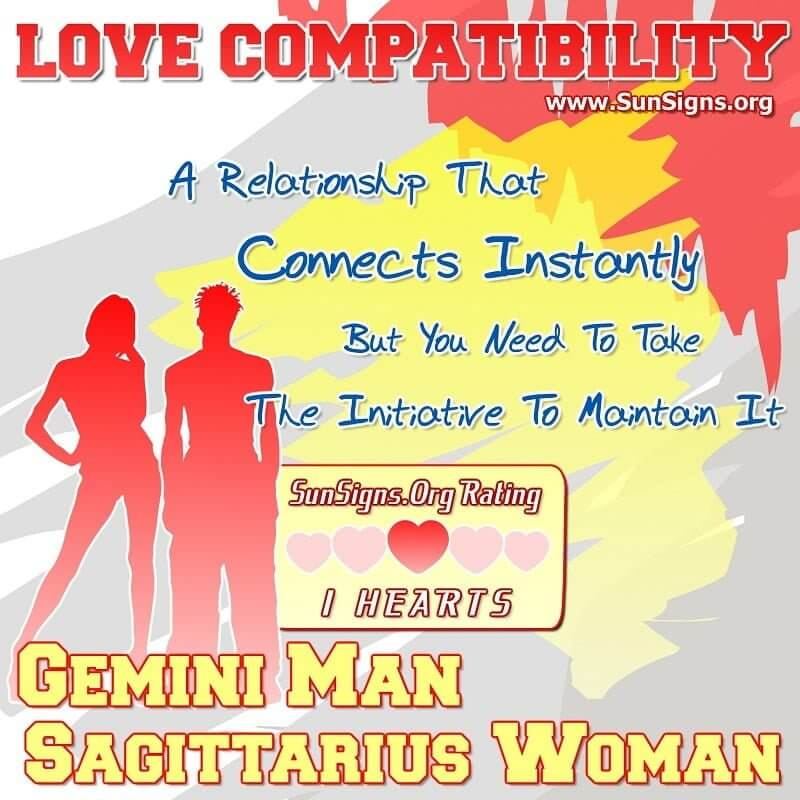 What zodiac sign is compatible with sagittarius woman