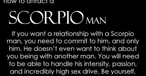 How to handle a scorpio man in a relationship
