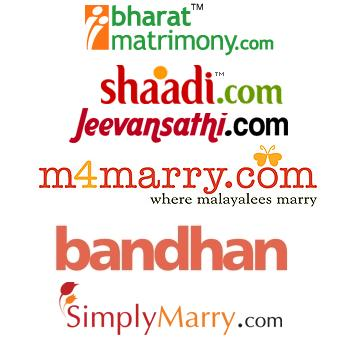List of matrimonial websites