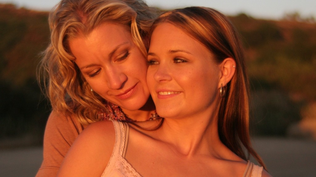Mature lesbians and young