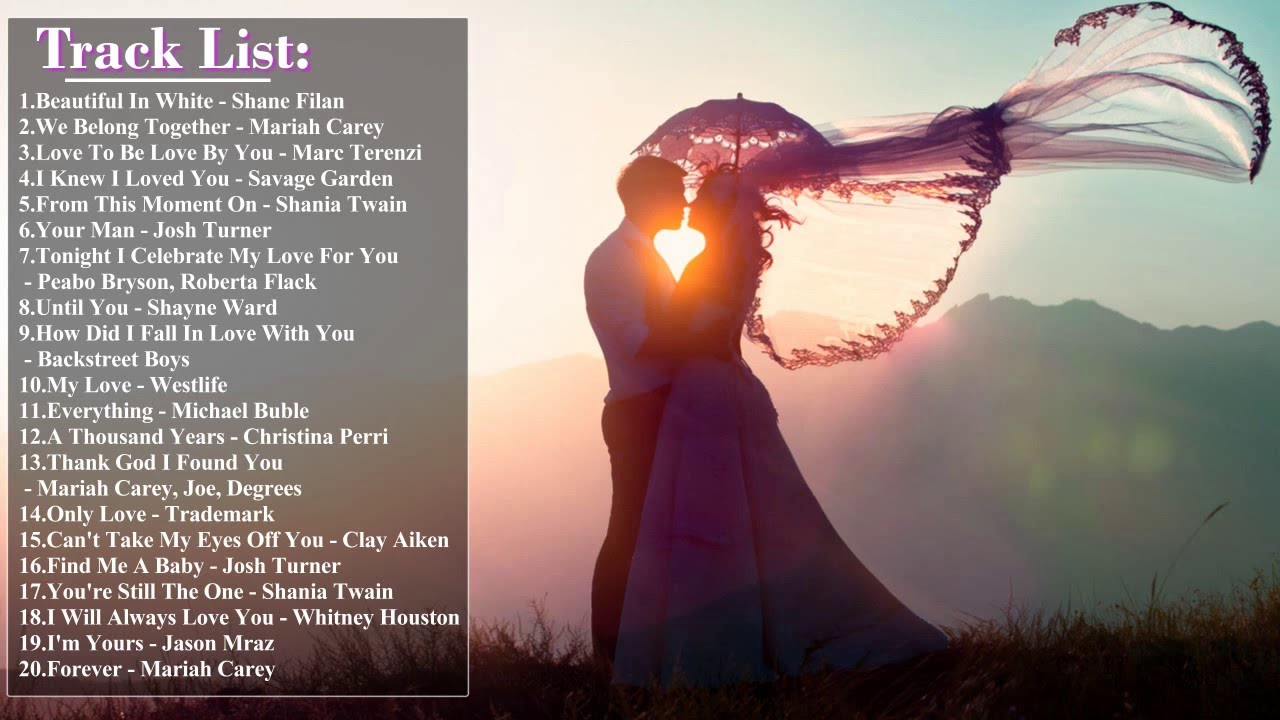 10 most popular love songs