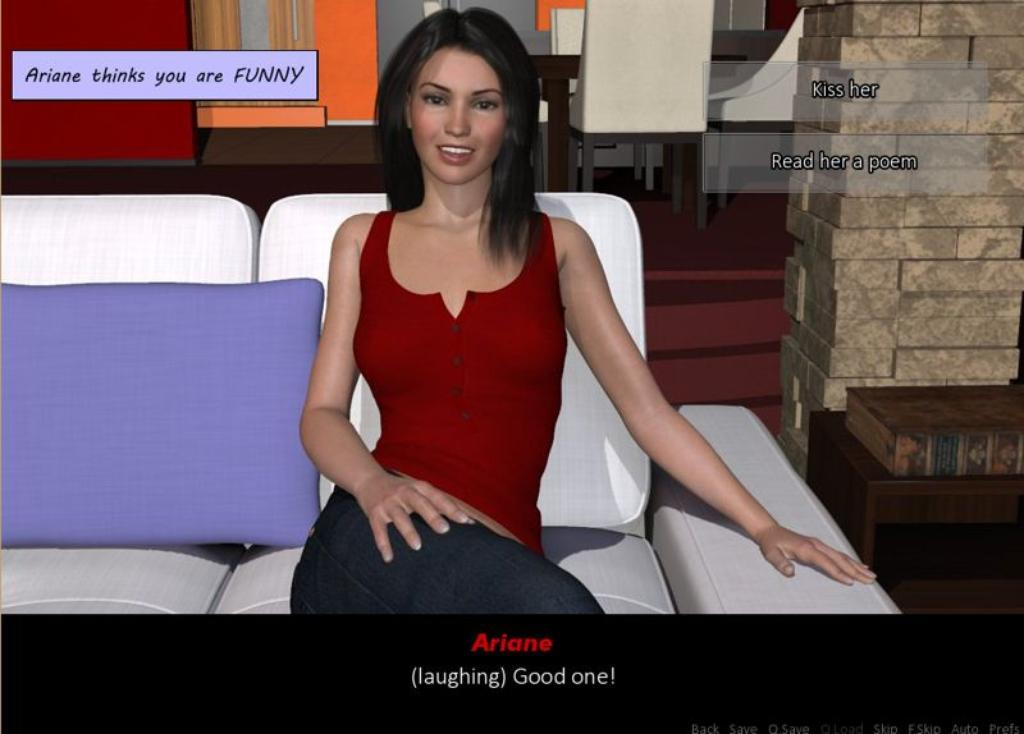 Dating simulation games ariane