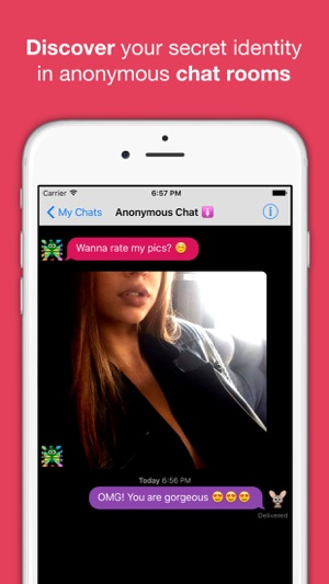 Anonymous sex chat rooms