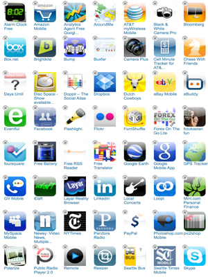 Most popular free apps for iphone