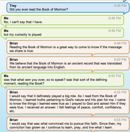 Lds chat room