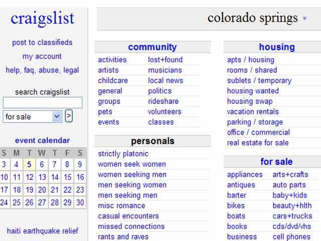 Craigslist denver casual encounters