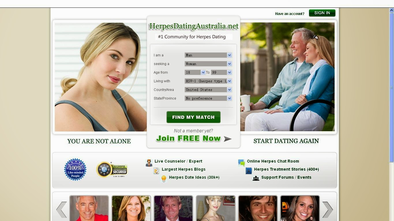 Herpes only dating sites