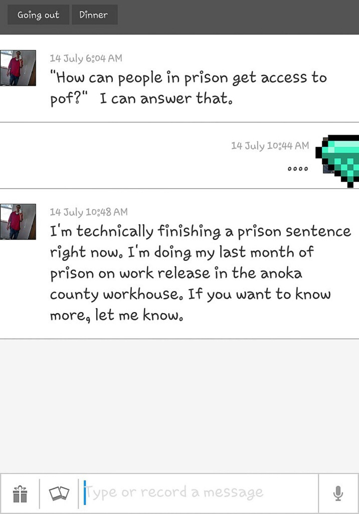 Good first messages on pof