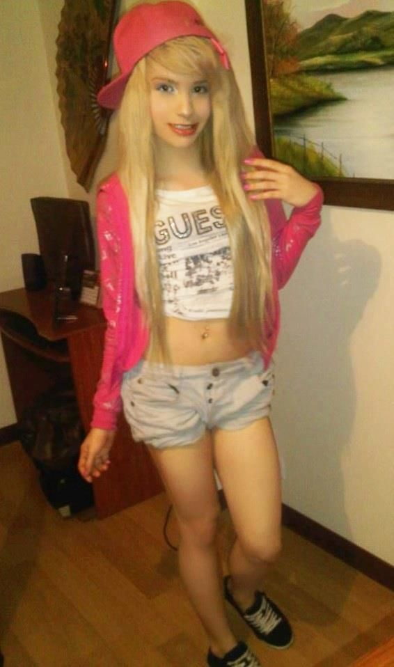 Young teen tranny