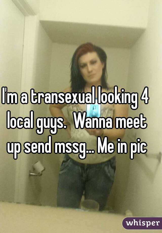 Transexual meet up