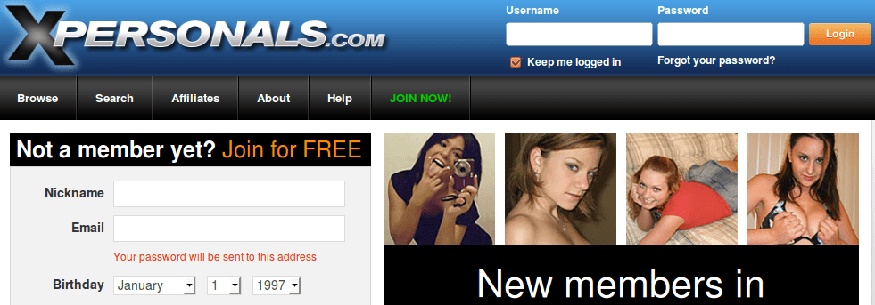 Xpersonals reviews