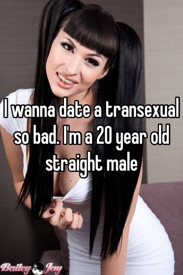 Straight men and transexuals