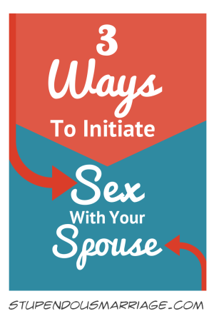 How to initiate sex