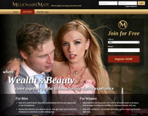 Dating site millionaires