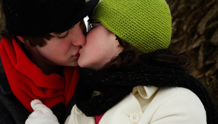 How to initiate first kiss