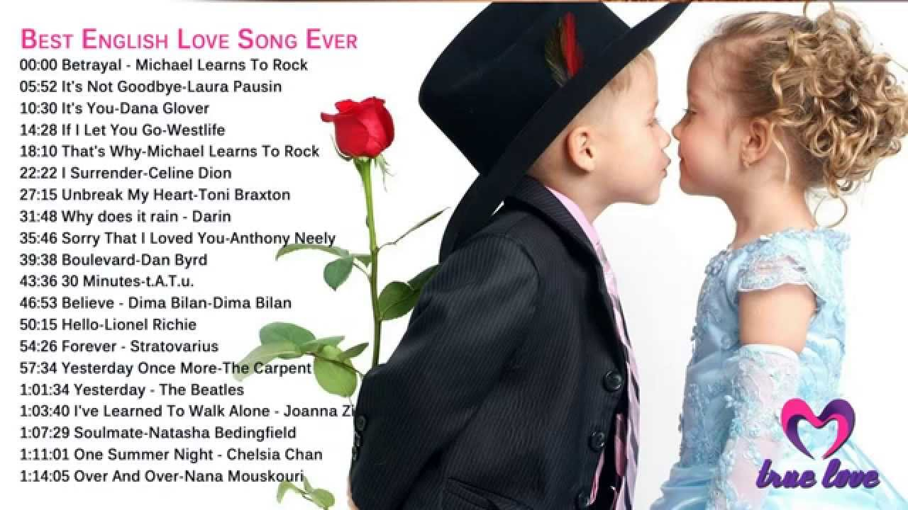 Best love songs english