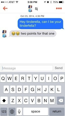 How to open a conversation on tinder