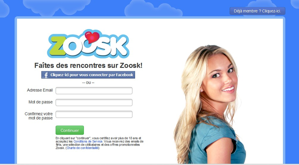 Zoosk.com dating site