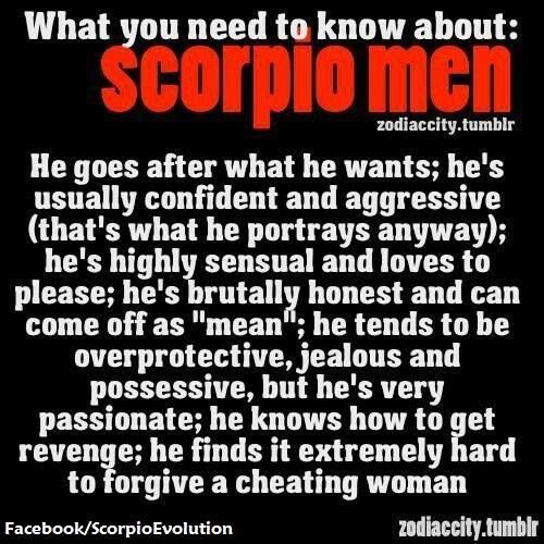 How to tell if a scorpio man wants you