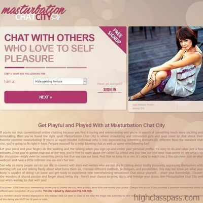 Masturbation chat city