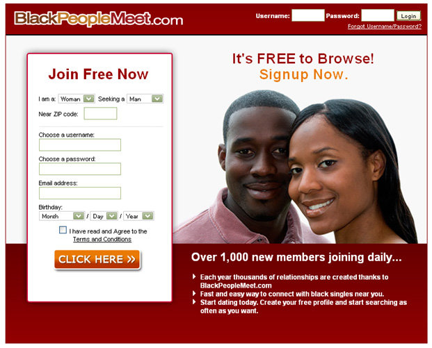 Blackpeople meet login