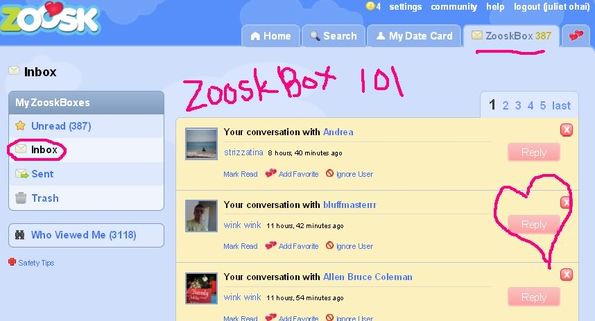 Zoosk is a scam