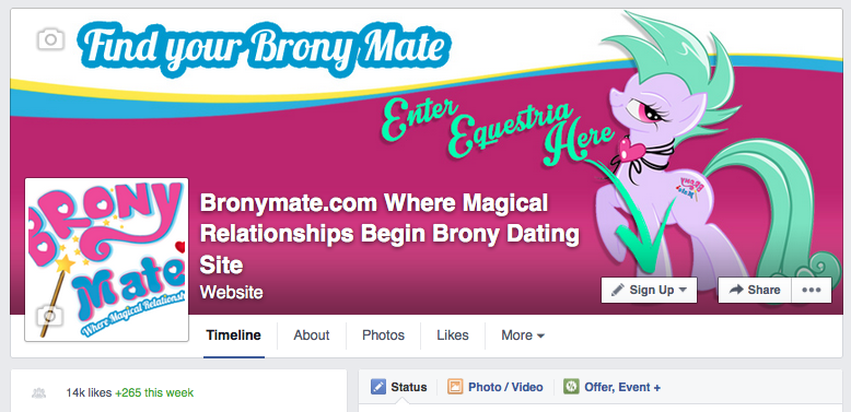 Brony dating site