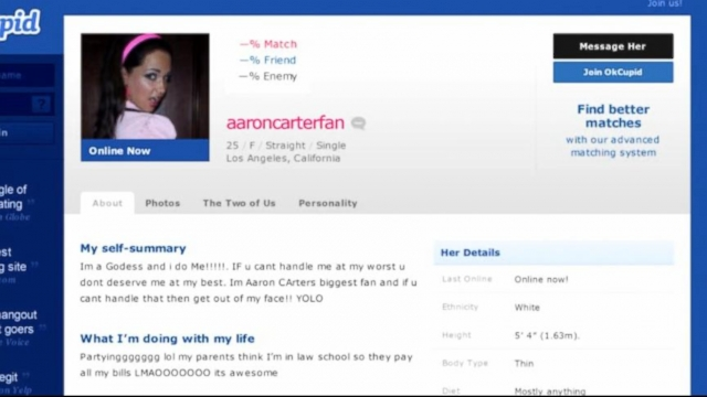 How to tell if an online dating profile is fake