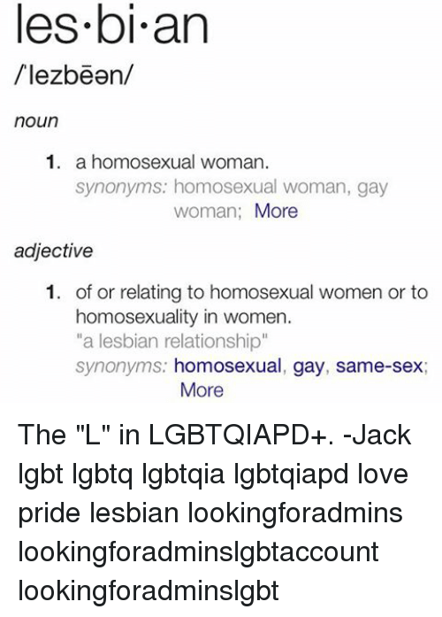 Gay adjectives