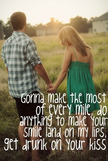 Country love songs to her