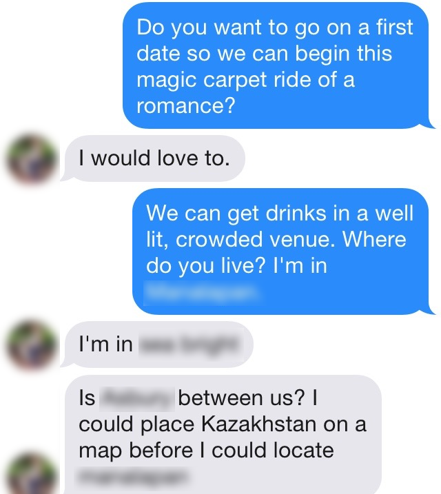 Openers for online dating