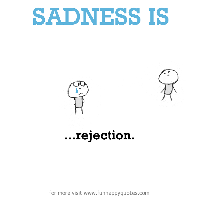 Rejection quotes funny