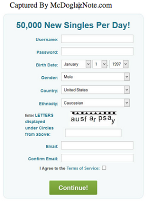Pof sign up mobile