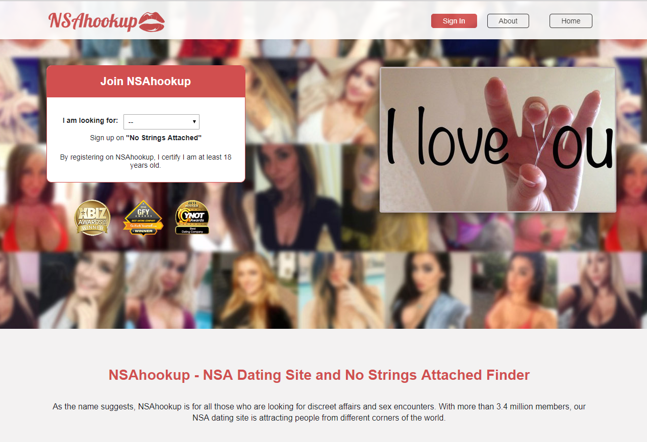 No strings attached dating website