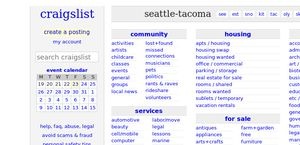 Www craigslist org seattle