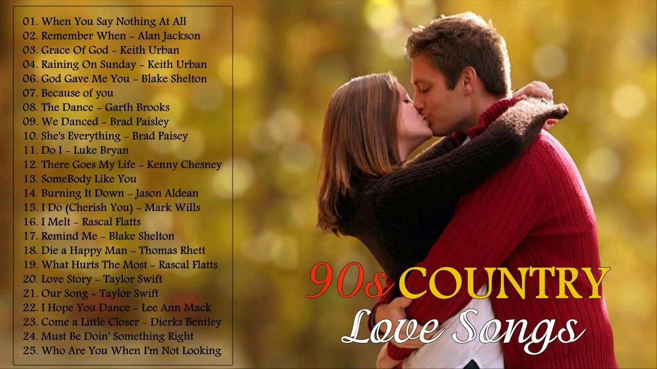 The best country love songs ever
