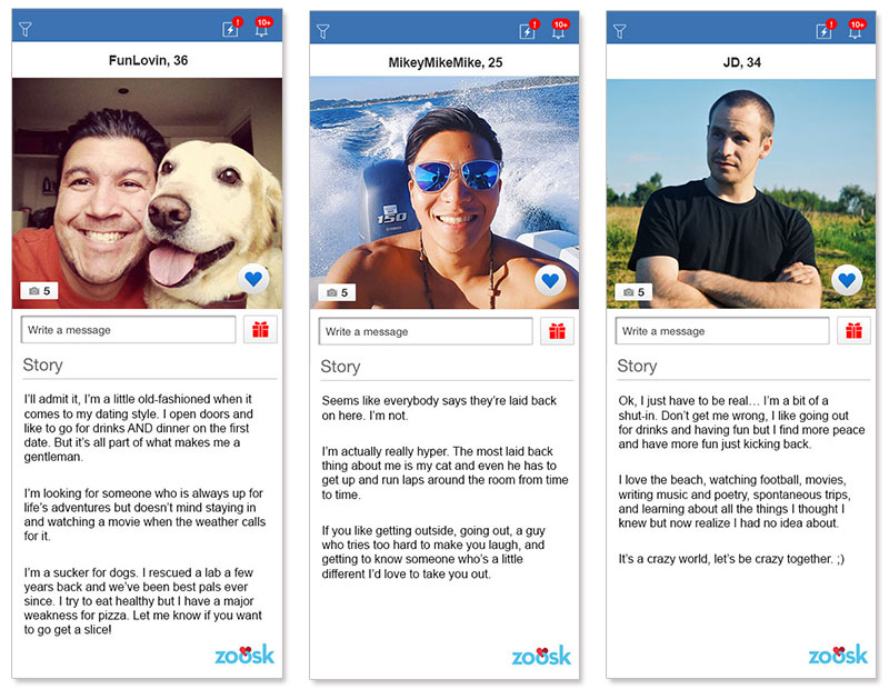 Online dating profile examples men