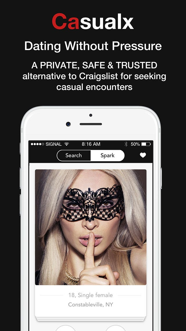 Websites for sexual encounters
