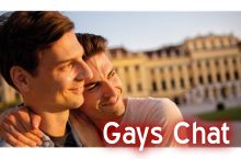 Gays chat room