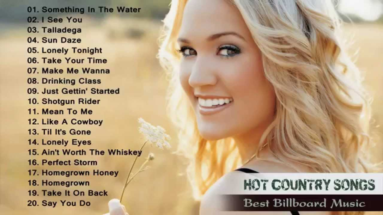 Popular country love songs