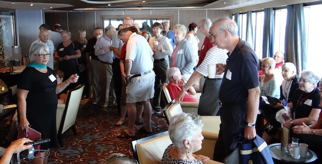Cruise critic meet and mingle