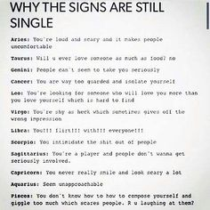 Star signs sexuality