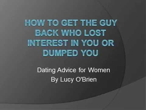 What to do when she loses interest in you