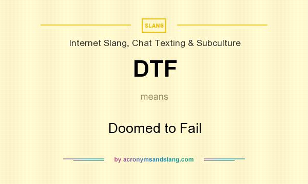 What does dtf stand for in slang