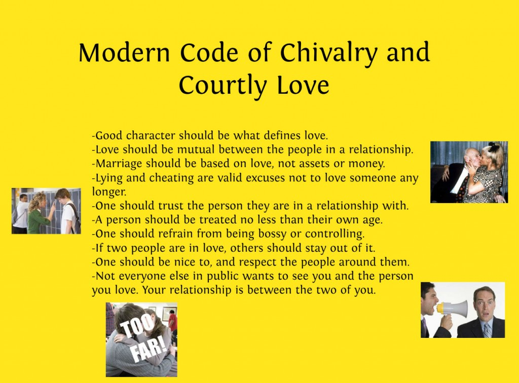 Modern day chivalry examples