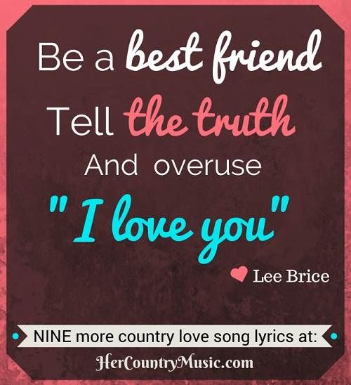 Number one country love song