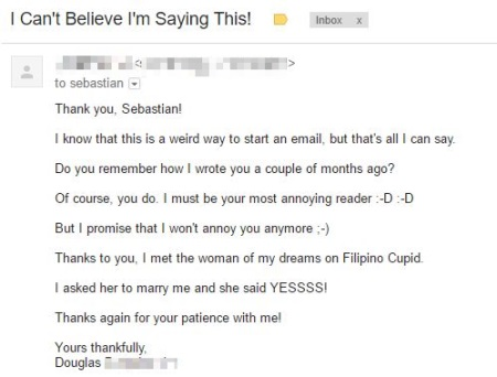 Filipino cupid success stories