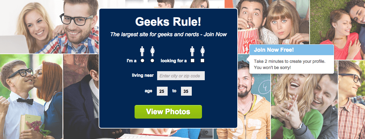 Dating site for geeks